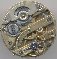unknown cylinder movement with interesting click mechanism
